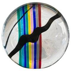 Livio Seguso for Oggetti Colorful Glass Sculpture