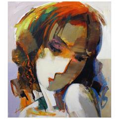Portrait of Lady by Abrishami