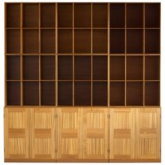 Mogens Koch Library in Mahogany for Rud. Rasmussen