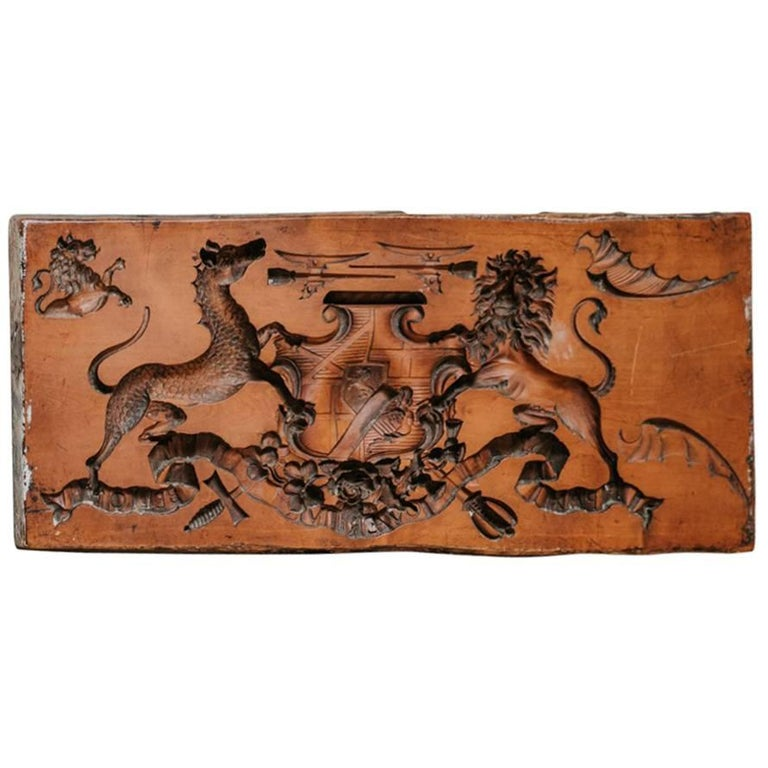 18th Century Boxwood Mold For Sale