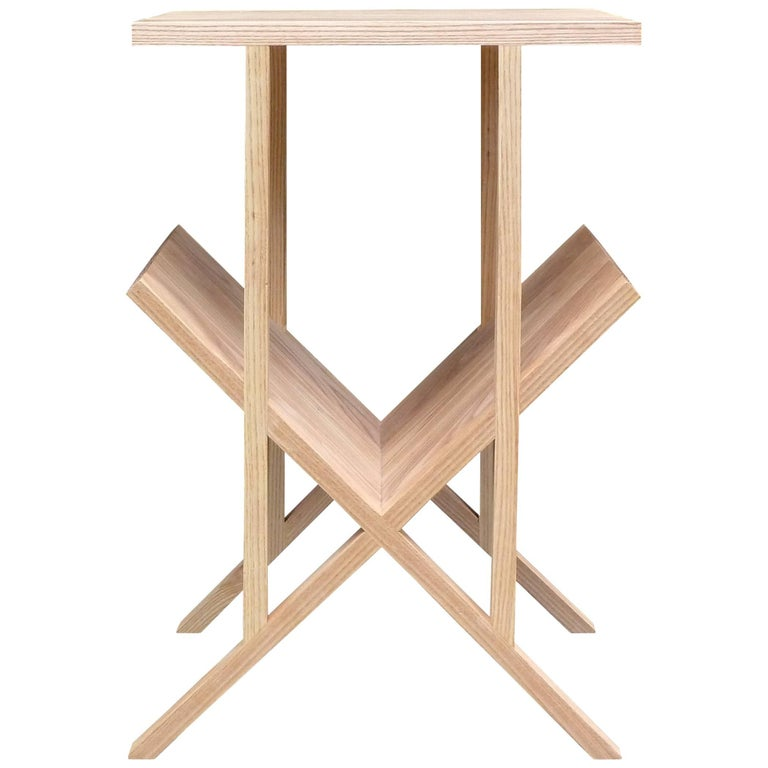 """Casey Lurie Studio Contemporary """"Lap"""" Side or End Table For Sale"""