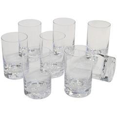 "Tapio Wirkkala ""Icebreaker"" Glassware for Iittala, circa 1960s"