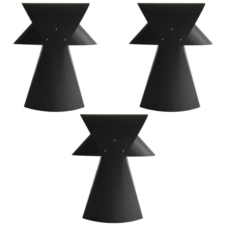 Casey lurie studio modern folio laser cut black oxide spring steel casey lurie studio modern folio laser cut black oxide spring steel table lamp for aloadofball Image collections