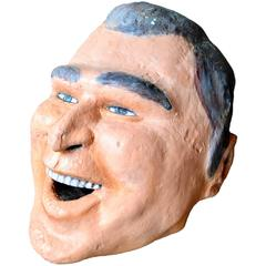 Monumental George Bush Sculptural Head
