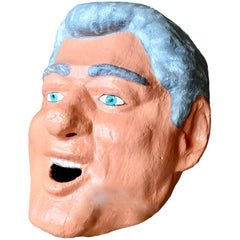 Monumental Bill Clinton Sculptural Head