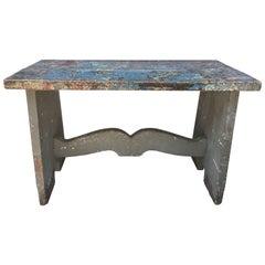 19th Century Dutch Art Studio Console or Table