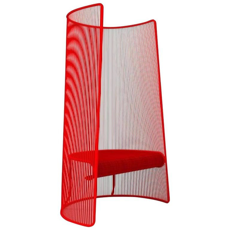 Husk Chair by Marc Thorpe for Moroso for Indoor and Outdoor For Sale