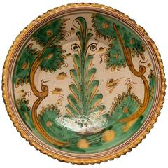 "Ceramic Platter, ""Tree of Life Motif"""