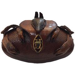 Armadillo Purse with Strap