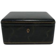 European Leather Jewelry Box