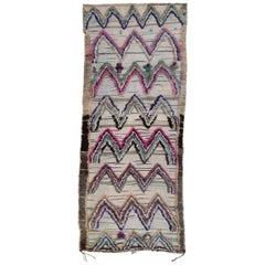 Vintage Moroccan Ait Bou Ichaouen Talsint Rug