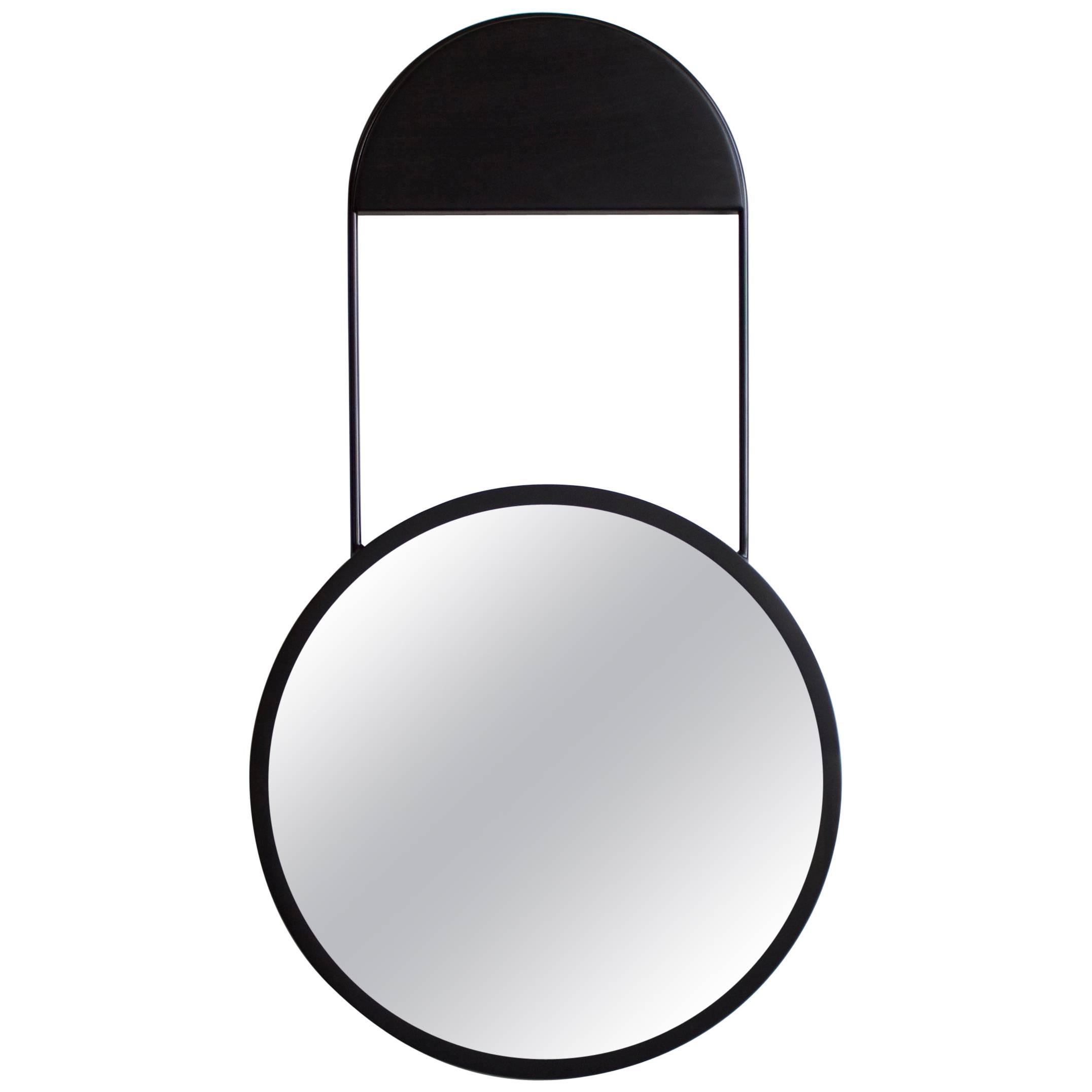 Penny Round Wall Hanging Mirror