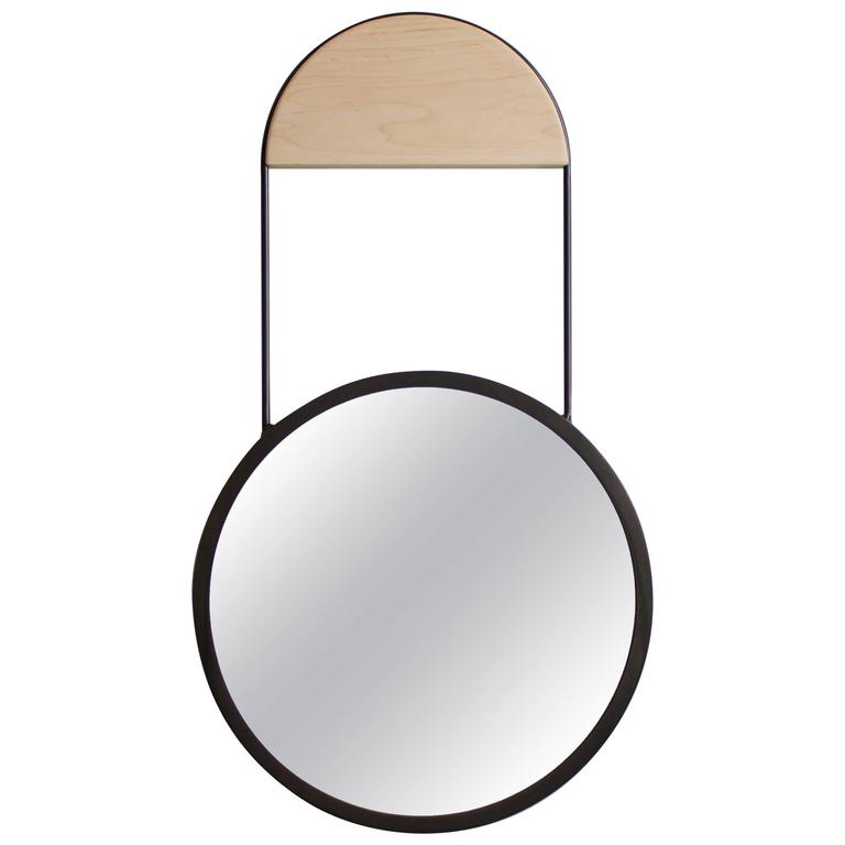 Penny Hanging Wall Mirror For Sale