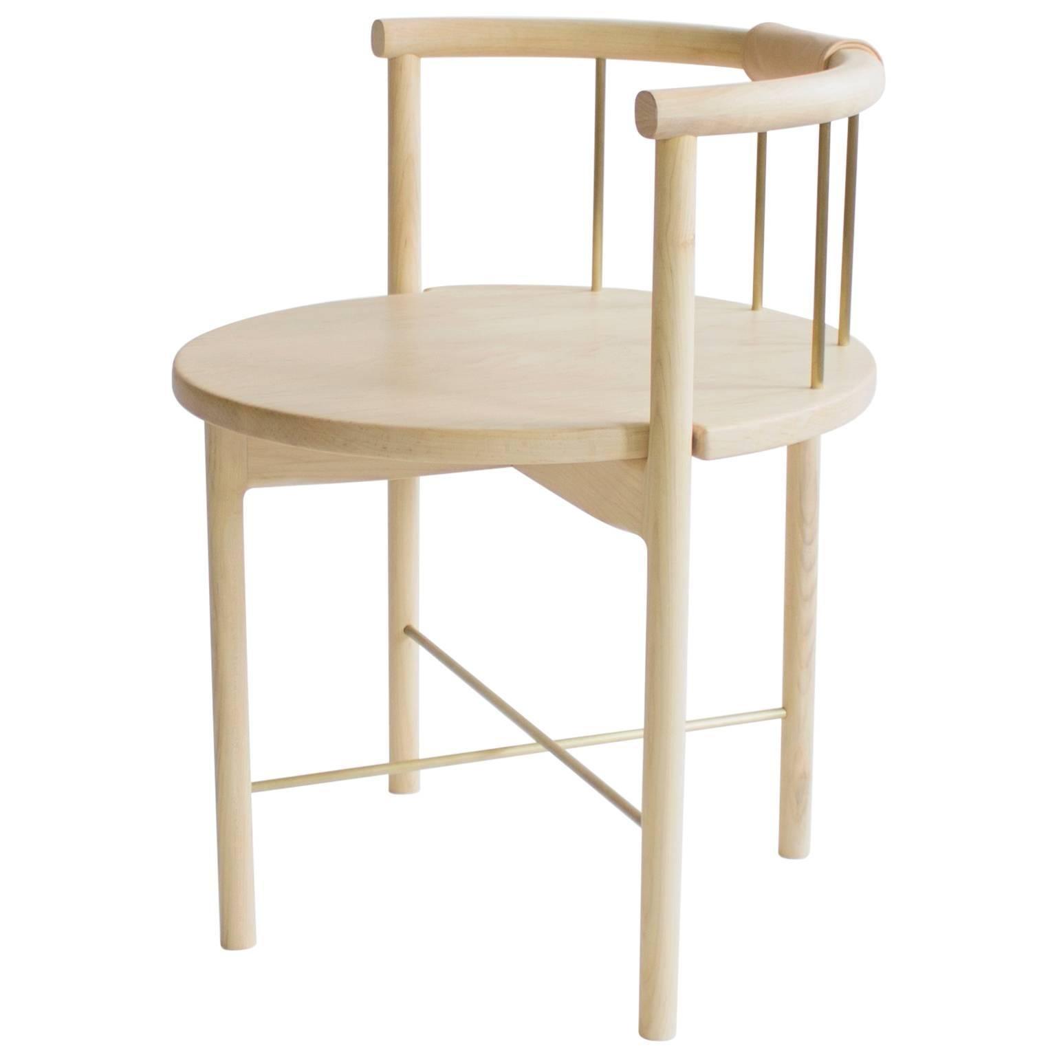 Lloyd Modern Dinning, Accent Chair, Barrel Back