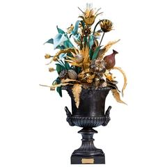 Flora Fantastica Sculpture, Design Chrystiane Charles, Made by Charles Paris