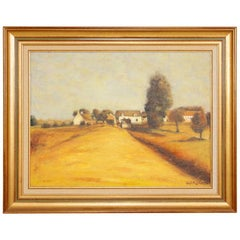 French Oil Painting on Canvas
