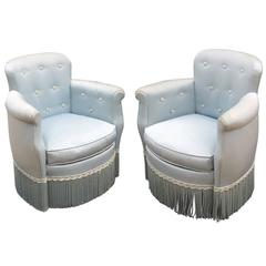 Pair of Art Deco Armchairs in the Style of André Arbus