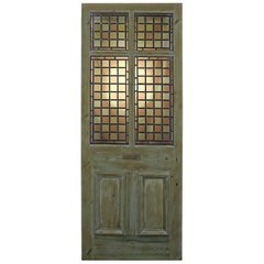 Antique Stained or Leaded Glass Front Door