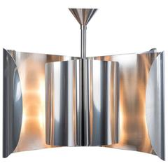 Voiles Chandelier, Made of Stainless Steel, Made in France by Charles Paris