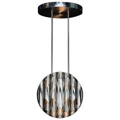 Apollonius Chandelier, Made of Stainless Steel, Made in France by Charles Paris