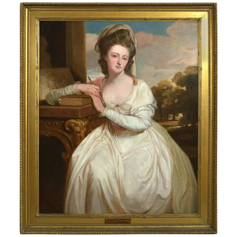 After George Romney, a Portrait of Charlotte Bettesworth
