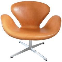 Early Edition Swan Chair by Arne Jacobsen for Fritz Hansen, Denmark, 1967