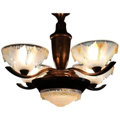 French Deco Ezan Chandelier