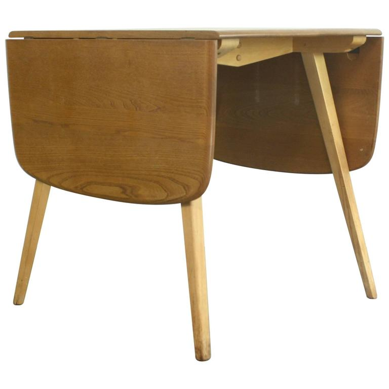 Vintage Ercol Windsor Drop Leaf Table For Sale At 1stdibs
