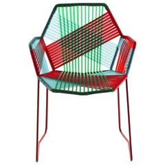 Moroso Tropicalia Dining Chair with or Without Arms in Multi, Black or White
