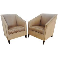 Pair of Modernist Armchairs, 1920s, by Francis Jourdain