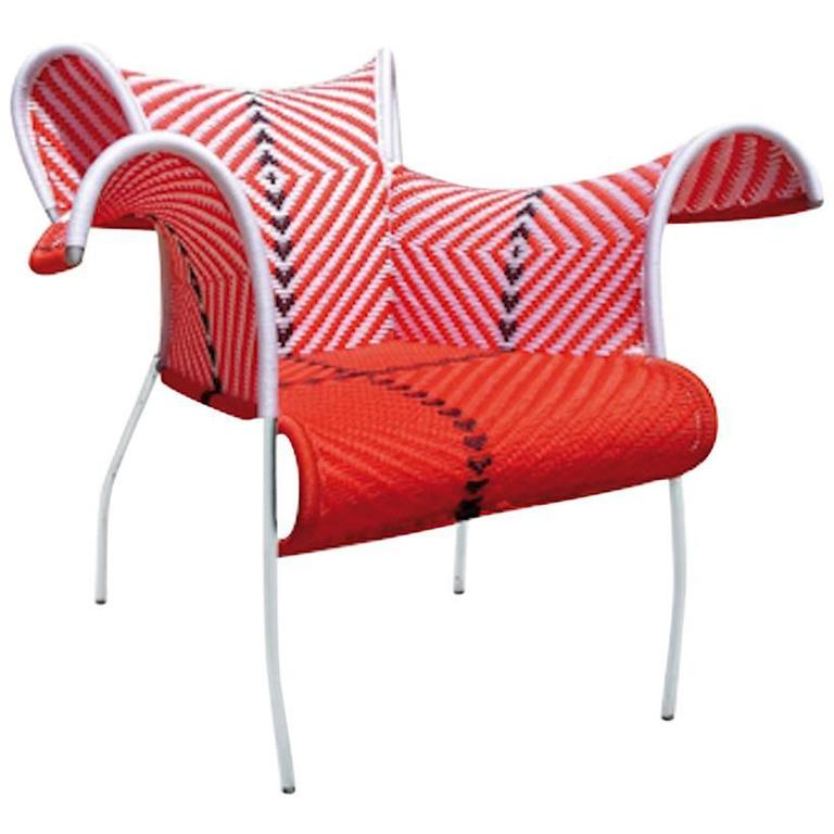 Charmant Ibiscus Armchair By Dominique Pétot For Moroso For Indoor And Outdoor