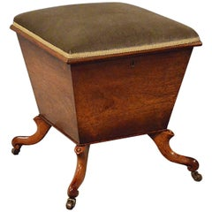 Ottoman Stool, English Regency, circa 1830