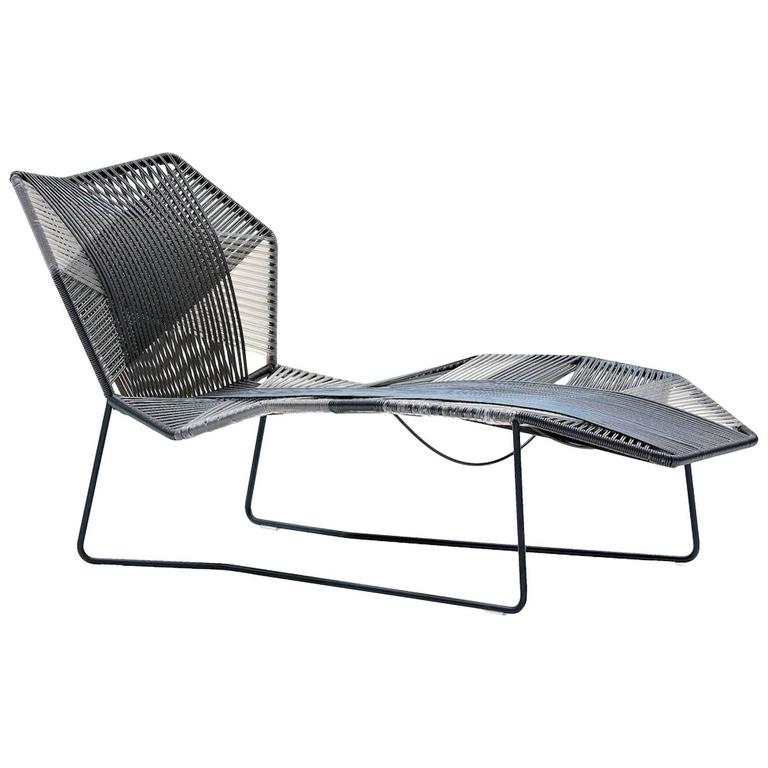 Moroso Tropicalia Sunlounger for Indoor and Outdoor Use by Patricia Urquiola