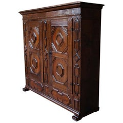 18th Century German Oakwood Cabinet
