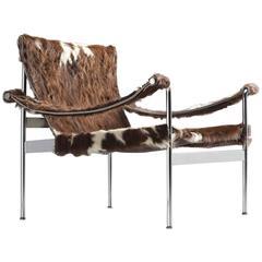 Hans Könecke German Cow Sling Lounge Chair