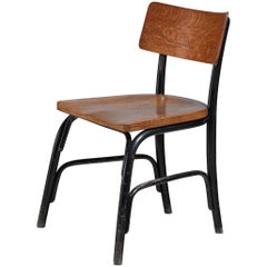 Frits Schlegel Oak and Beech 'Husum' Chair, Denmark, circa 1930