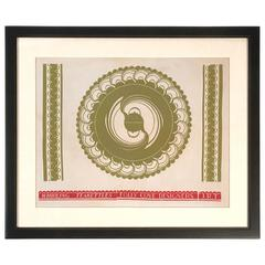 Folly Cove Designers Block Print of Whirling Teakettles