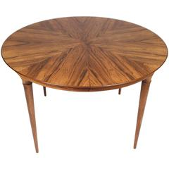 Svante Skogh, Cortina Extending Rosewood Table, 1960s
