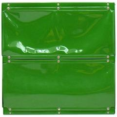Otto Zapf Green Softline Plastic Shelf, Germany, 1971
