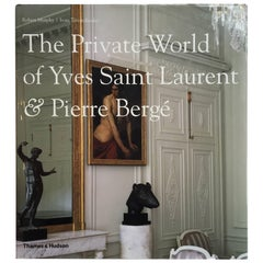 Private World of Yves Saint Laurent and Pierre Bergé Book
