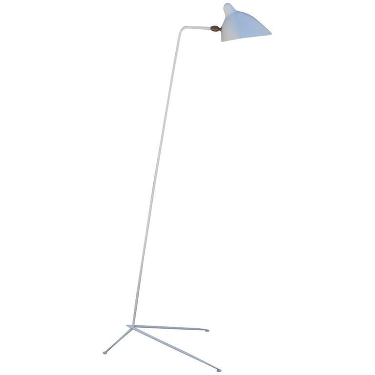 'Lampadaire Simple' Floor Lamp by Serge Mouille 1