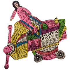 Howard Finster The Devils Vice Cut Out