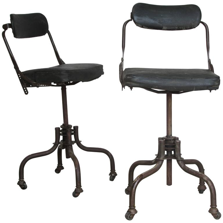 Beau Early Industrial Task Chairs