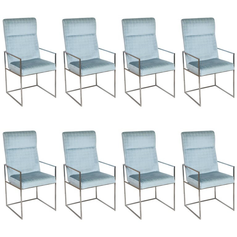 Set of Milo Baughman Dining Chairs 1