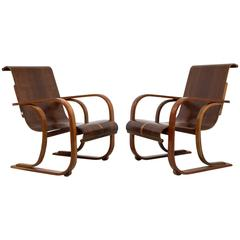 Vintage Art Deco Armchairs by CIMO