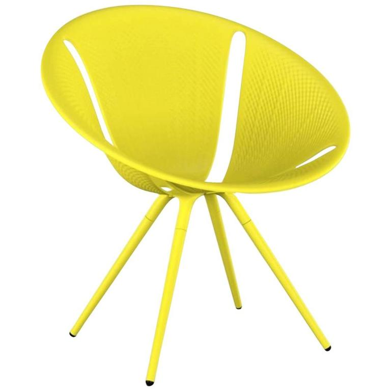 Moroso Diatom Stackable Chair for Indoor and Outdoor Use by Ross Lovegrove