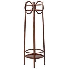 Thonet Art Nouveau Bentwood Plant Stand