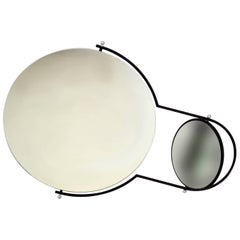 Modernist Wall Mirror by Rodney Kinsman for Bieffeplast, 1980s