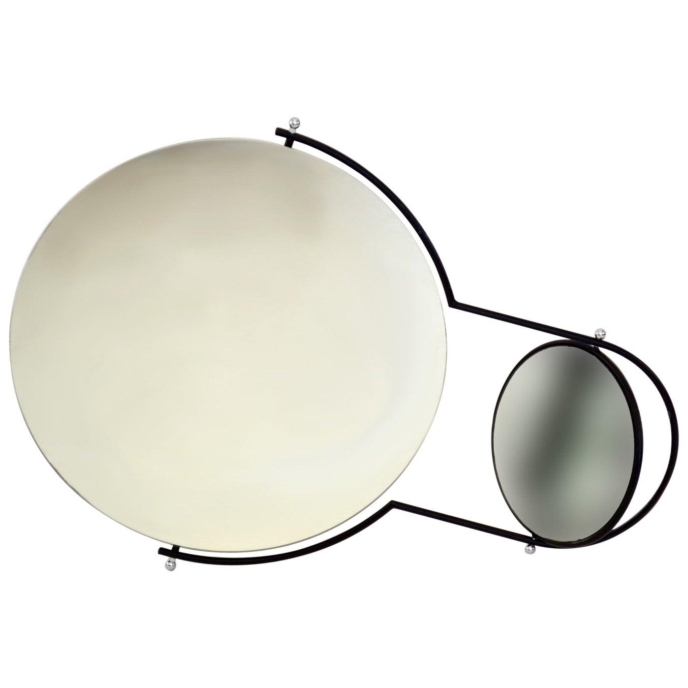 Modernist Wall Mirror by Rodney Kinsman for Bieffeplast, 1980s