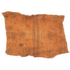 Mbuti Pygmy Painting on Barkcloth